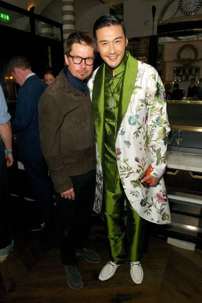 Oliver Spencer and Hu Bing