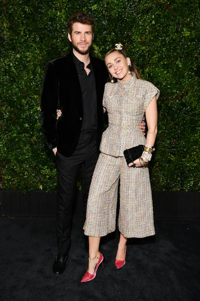A spring arrival to the Chanel And Charles Finch Pre-Oscar Awards Dinner