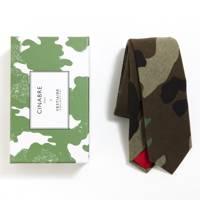 Cinabre x Vestiaire Collective camouflage tie