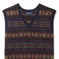 Fair Isle knitted vest by Polo Ralph Lauren