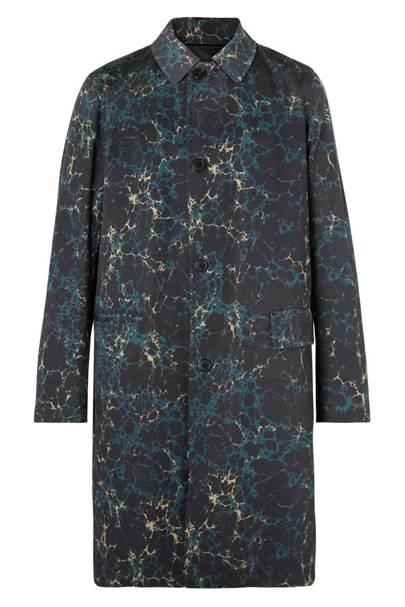 Dries Van Noten Reversible Shell And Printed Cotton-Twill Coat