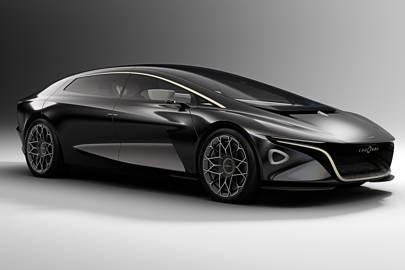 The Aston Martin Lagonda Vision Concept Is For Bored Billionaires