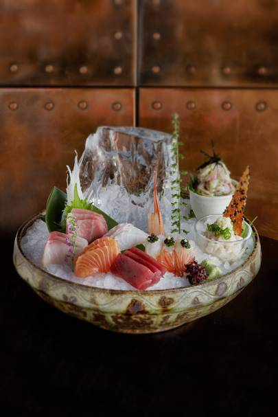 10) Pre-theatre menu at ROKA London