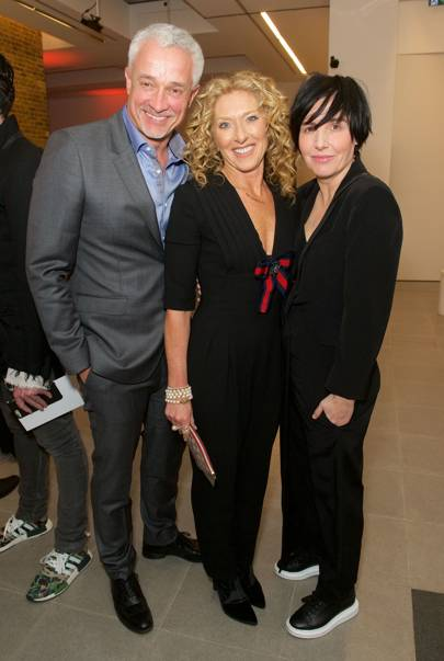 John Gardiner, Kelly Hoppen and Sharleen Spiteri