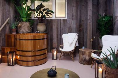 Couples Banya treatment at the South Kensington Club