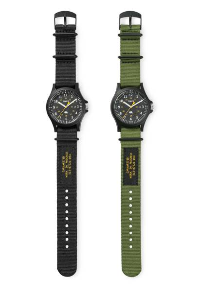 Carhartt WIP x Timex watches