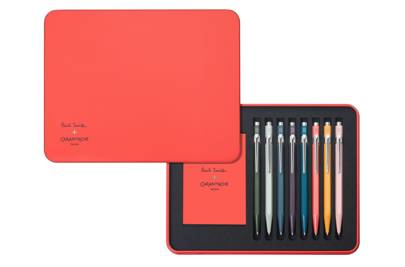 Paul Smith x Caran D'Ache pen set