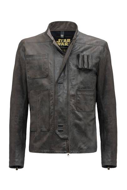 Han Solo's leather jacket (Star Wars: The Force Awakens, 2015)