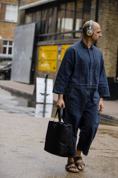 The most stand-out street style from London Fashion Week Men's SS20
