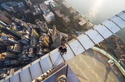 A rooftop, Hong Kong