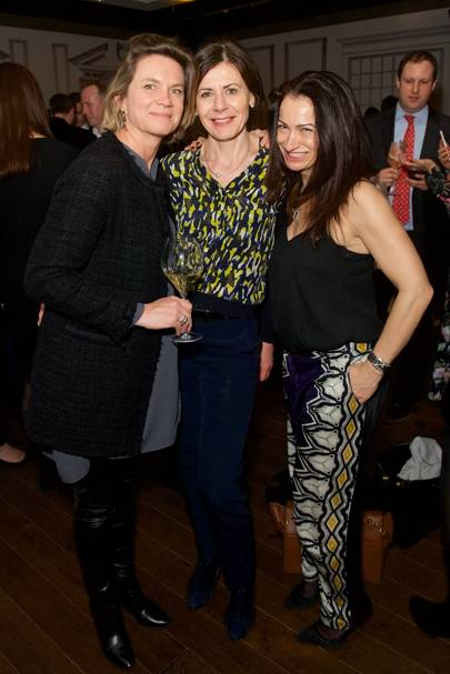 Julie Nollet, Maryse Malicet and Isabelle Meyer