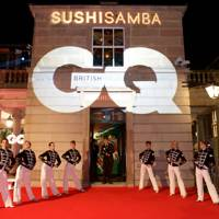 GQ 30th Anniversary party at Sushisamba