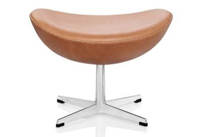Egg footstool by Fritz Hansen