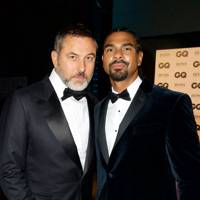 David Walliams and David Haye