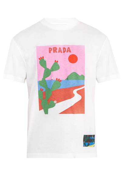 T-shirt by Prada
