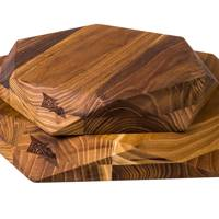 Teak Star Cutting Board by Edge of Belgravia