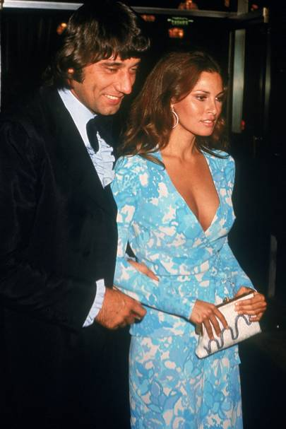Joe Namath and Raquel Welch, 1972