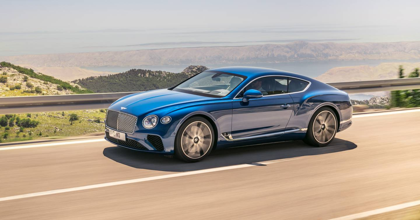New Bentley Continental Gt An Exclusive First Drive British Gq