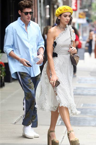 Out and about in New York