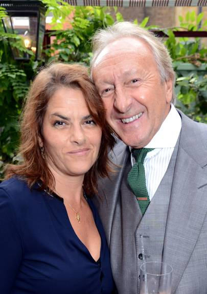 Tracey Emin and Harold Tillman