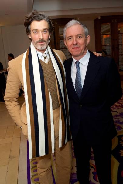 Richard Biedul and Bill Prince
