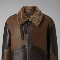 Shearling jacket by Giorgio Armani