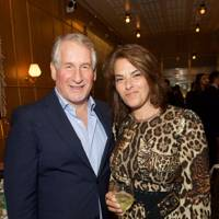 Simon Kelner and Tracey Emin