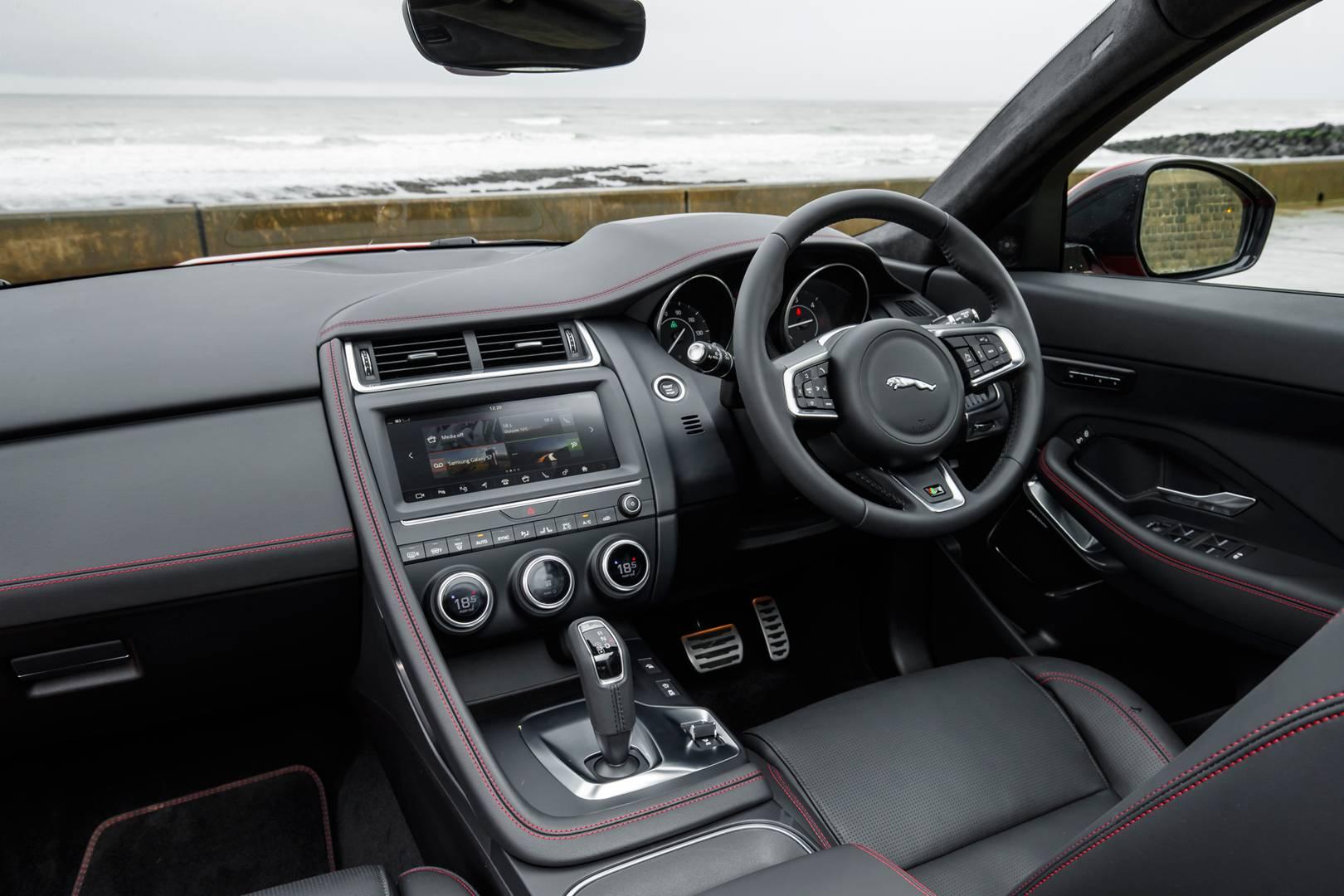 jaguar e pace interior car design today. Black Bedroom Furniture Sets. Home Design Ideas