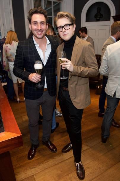 Damien Mouries & James Sheen