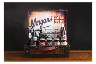 Retro grooming products by Morgan's Pomade