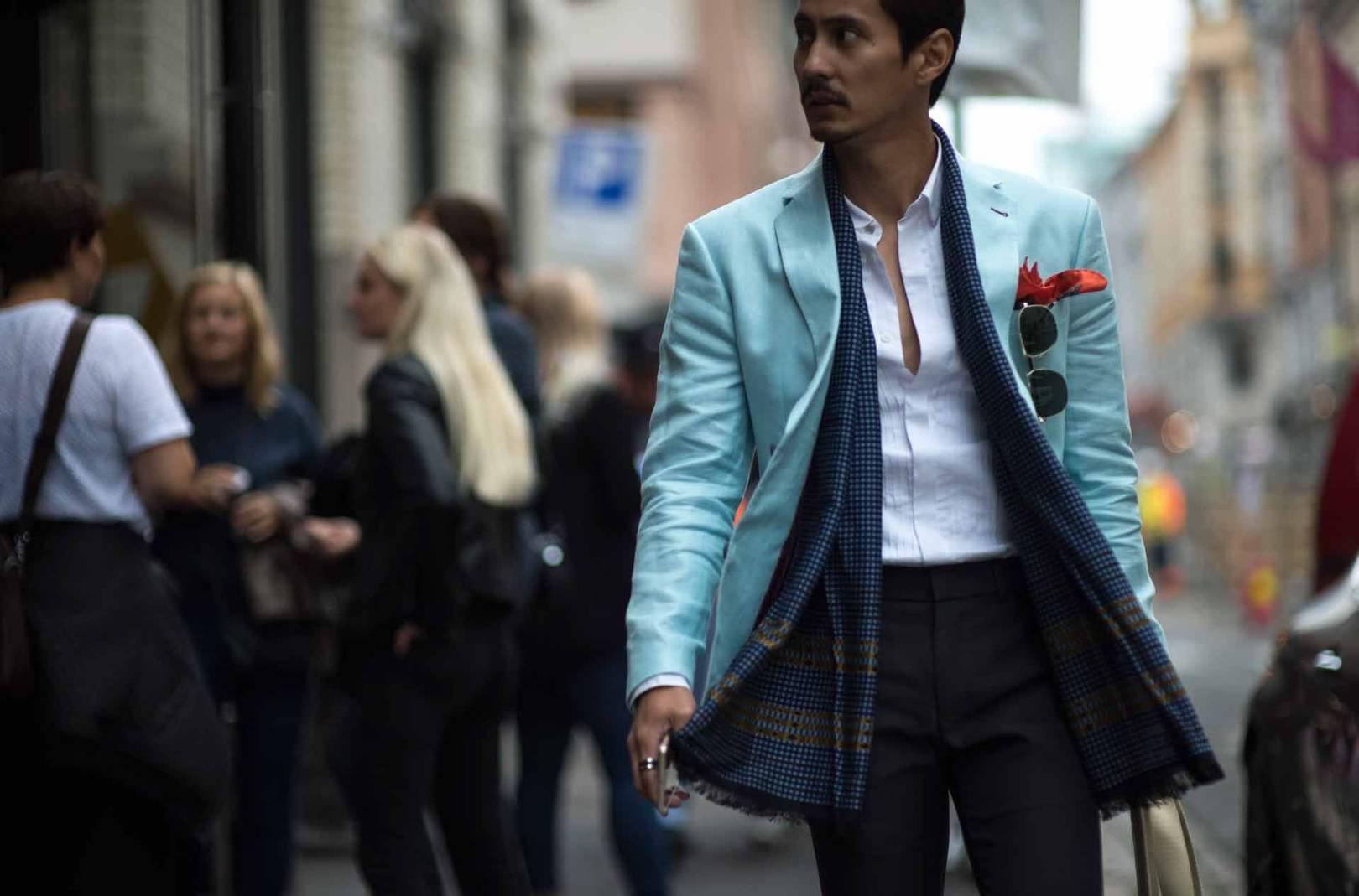 Oslo Fashion Week street style Spring/Summer 2017 | British GQ
