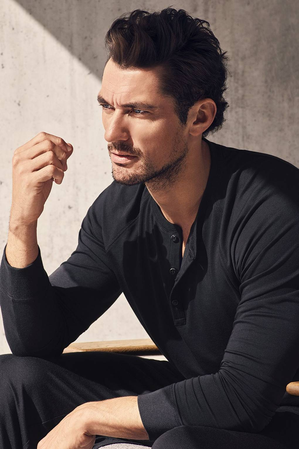 David Gandy Returns With His Latest Autograph Loungewear Line At