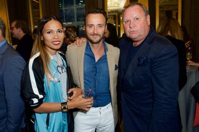 Irha Atherton, Jason Atherton and Gary Farrow