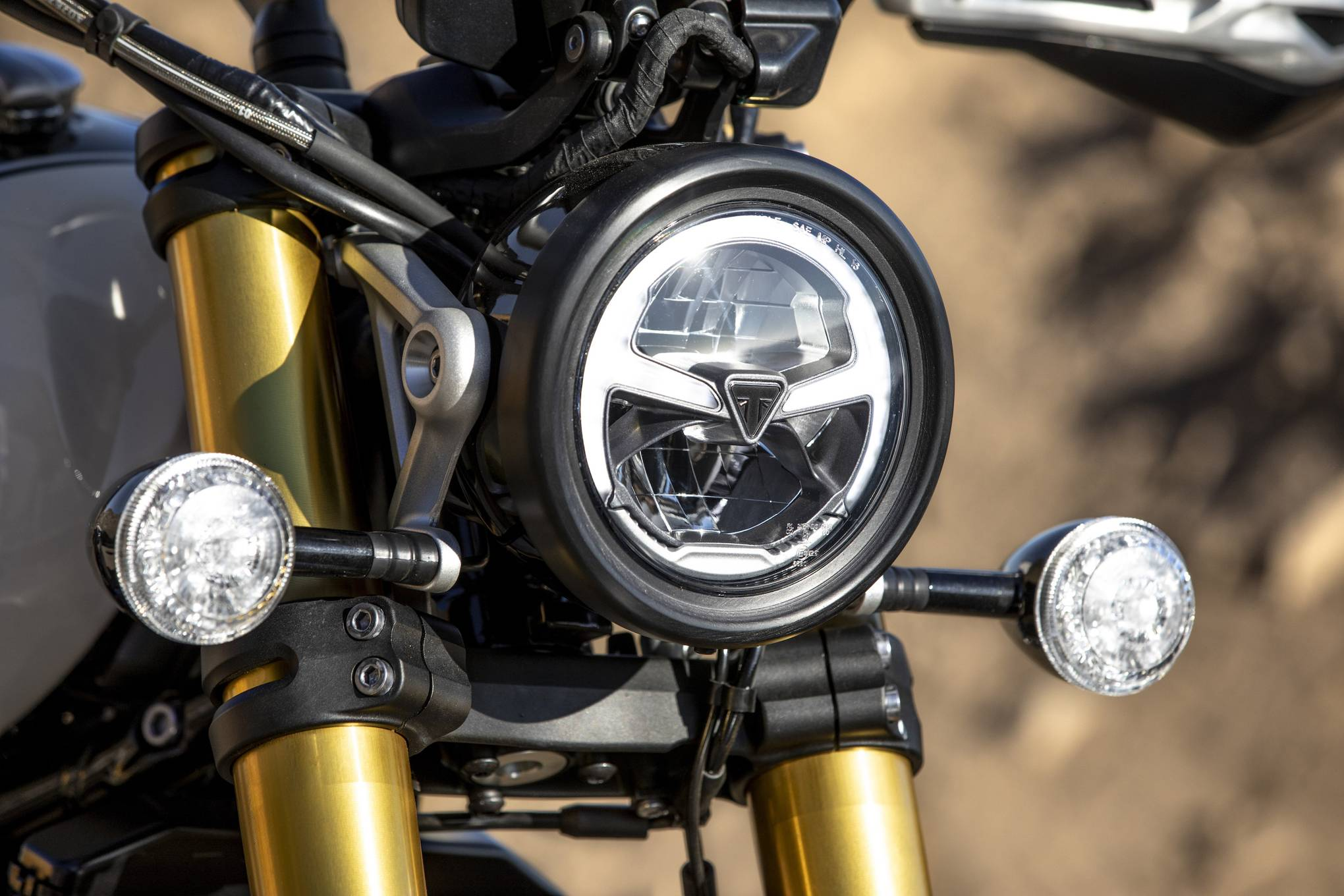 Triumph Scrambler 1200 Review British Gq