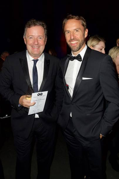 Piers Morgan and Gareth Southgate