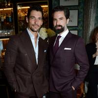 David Gandy and Jack Guinness
