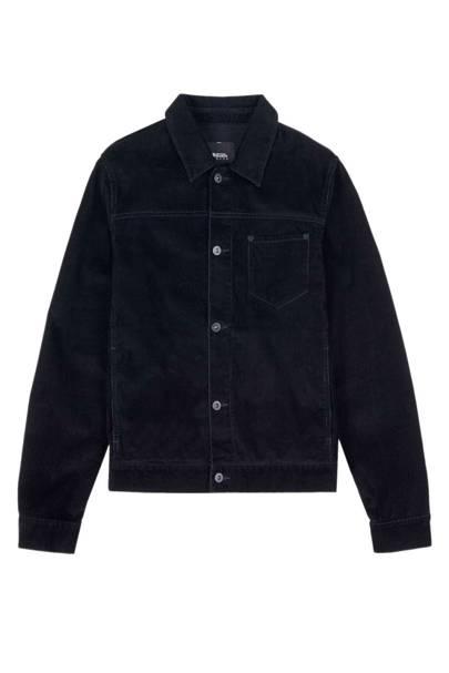 Burton navy corduroy trucker jacket