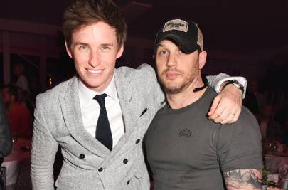 Eddie Redmayne and Tom Hardy