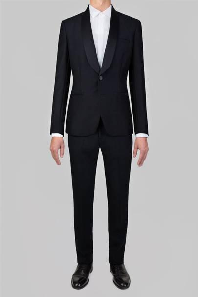 Advani shawl-lapel dinner suit
