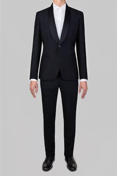 Advani shawl-lapel dinner suit