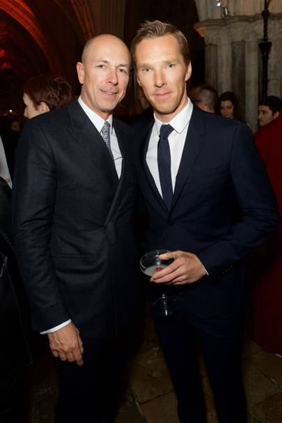 Dylan Jones and Benedict Cumberbatch