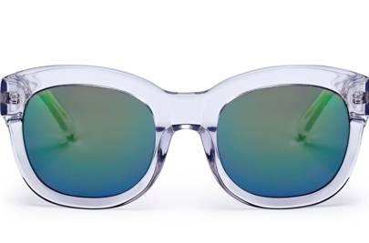 Whistles mirrored lens sunglasses