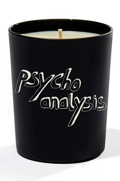 Bella Freud Psychoanalysis candle