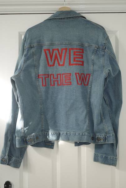 c4fec1be1 UniQlo   denim jacket with baffling detail   £price unknown