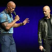 The Rock and Jason Statham are this week's best groomed duo