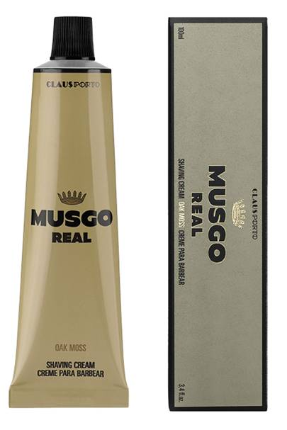 Shave cream by Musgo Real