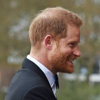 Prince Harry's beard is doing all the heavy-lifting