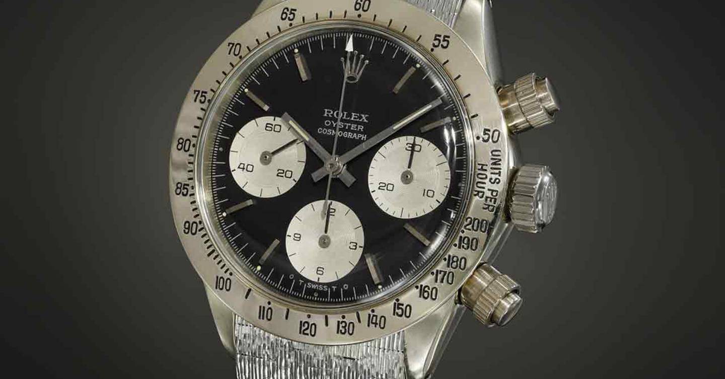 'Unicorn' Rolex Daytona becomes second most valuable watch ever sold at auction
