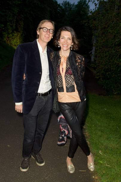 Mark Williams and Thomasina Miers