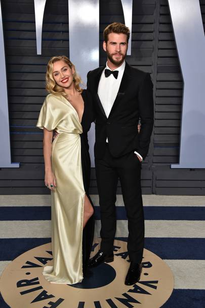 A luxe vibe at the Vanity Fair Oscars Party